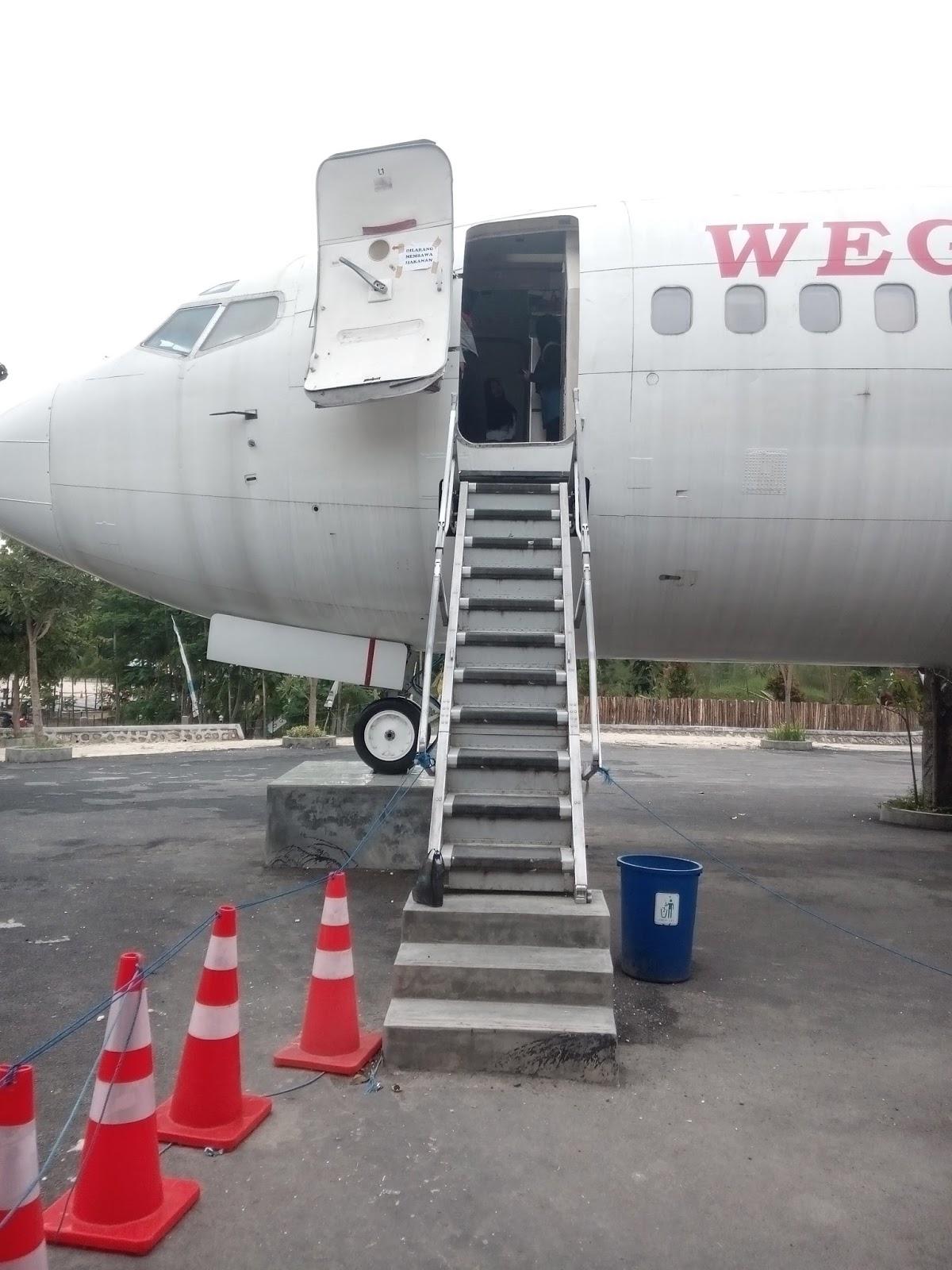 Lokasi Wego Lamongan Wisata Terbaru Unik Banget Pesawat Bisa Dibilang