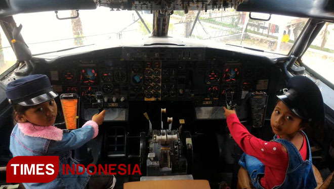 Long Weekend Ribuan Wisatawan Rasakan Sensasi Jadi Pilot Times Dua