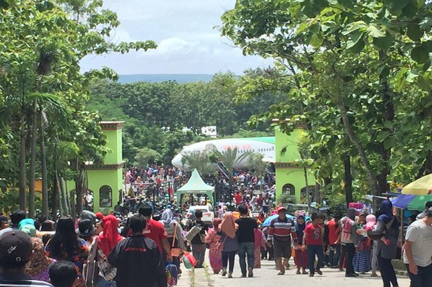 Objek Wisata Menyuguhkan Edukasi Wego Gondang Outbond Kab Lamongan