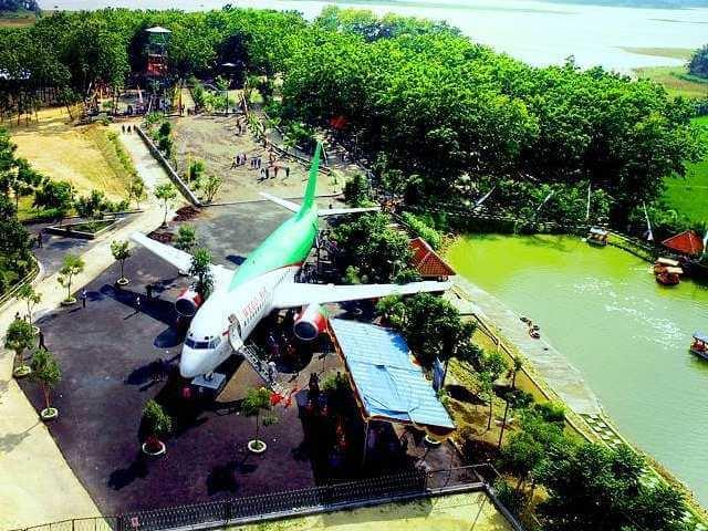 Wisata Wego Lamongan Unik Edukatif Wisatalova Pesawat Air Gondang Edukasi