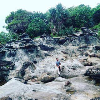 Banten Wowbanten Instagram Posts Deskgram Pantai Karang Taraje Bayah Kabupaten