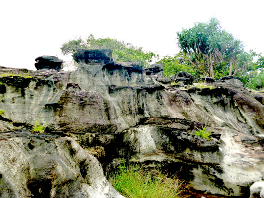 Izin Distamben Banten Juni 2016 Landscape Geodiversity Karang Taraje Bayah