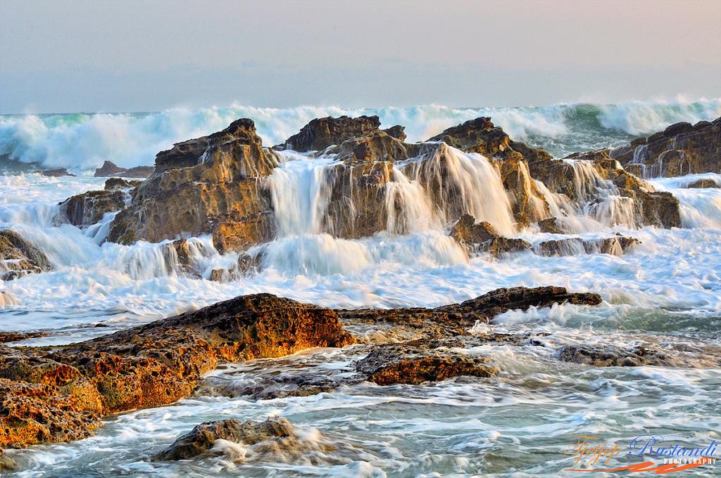 Karang Taraje Sawarna Rock Beach Banten Flickr 3 Pantai Kab