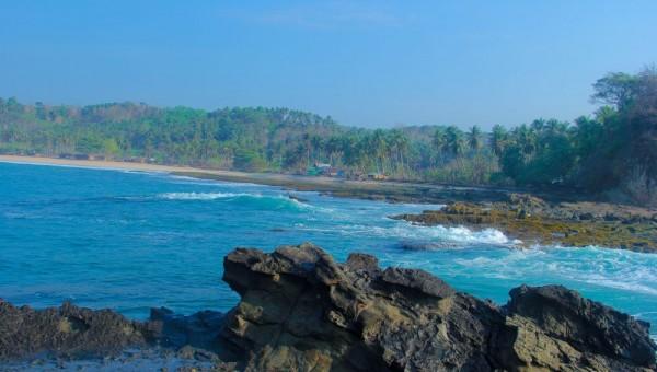 Pantai Karang Taraje Sawarna Dinas Pariwisata Kabupaten Lebak Kab