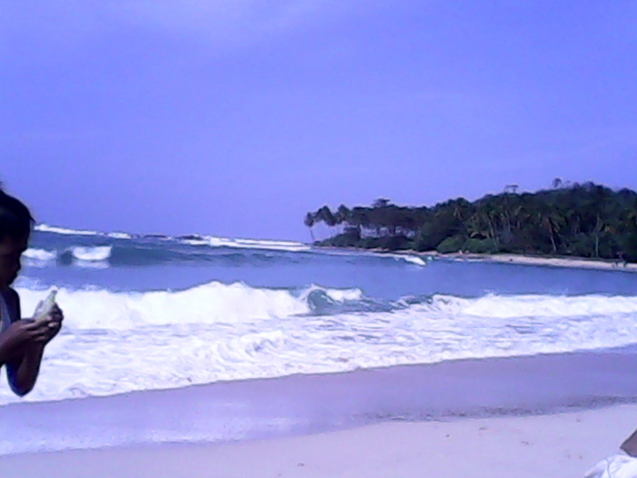 Pantai Karang Taraje Sukabumi Sawarna Lebak Banten Youtube Kab