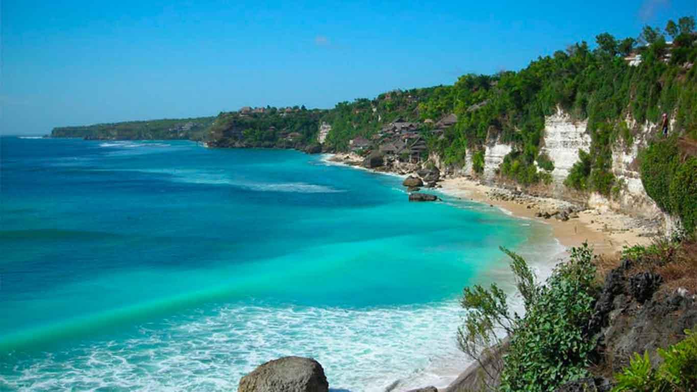 Pantai Sawarna Banten Indah Alami Karang Taraje Kab Lebak