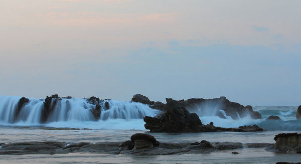 Pantai Sawarna Pesona Wisata Memukau Karang Taraje Kab Lebak