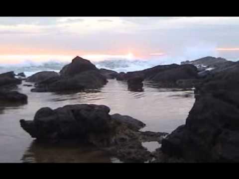 Sunset Karang Taraje Dekat Bayah Kab Lebak Banten Youtube Pantai