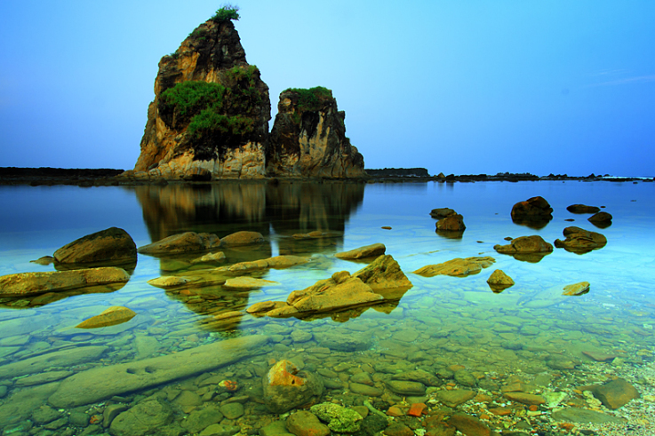 Wisata Banten Desa Pantai Sawarna Lebak Tanjung Layar Karang Taraje