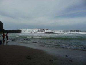 Wisata Pantai Sawarna Banten Obyek Karang Taraje Objek Termasuk Desa