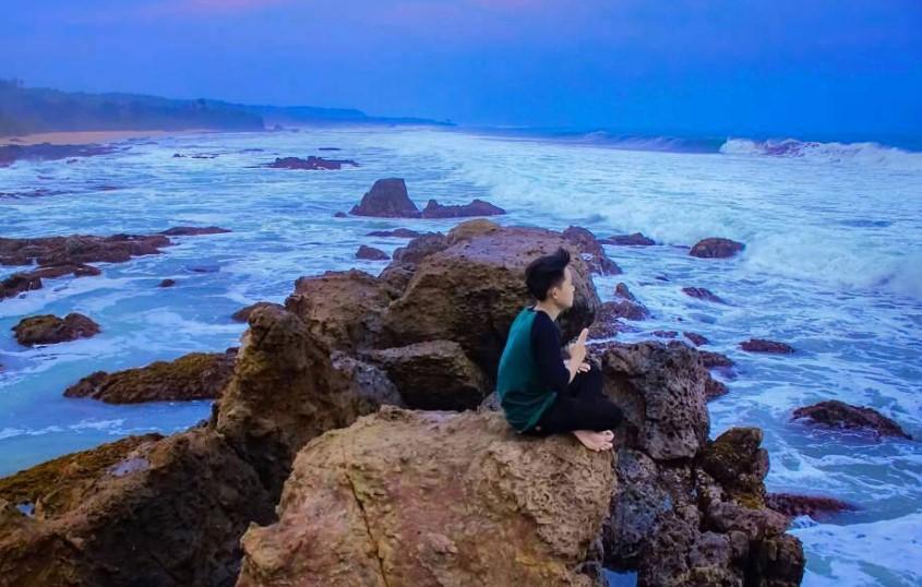 15 Tempat Wisata Lebak Banten Hits Dikunjungi Pantai Karang Songsong