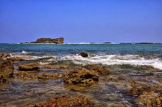 7 Pantai Pesona Cantik Banten Aja Karang Songsong Terletak Kawasan