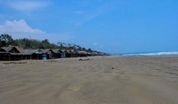 Cibobos Pantai Bagedur Karangsongsong Kab Lebak