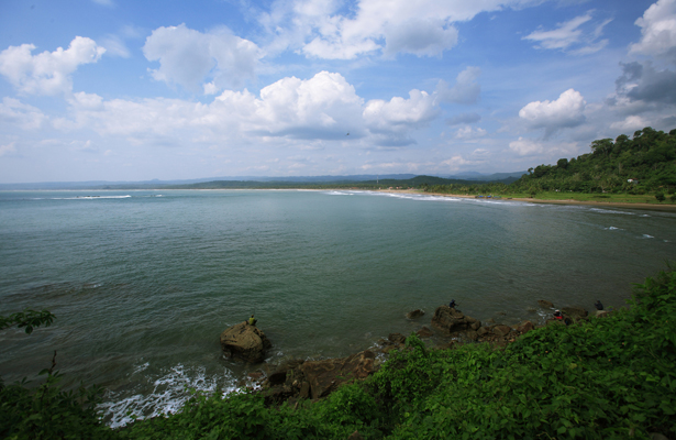 Coast Bayah1 Jpg Malingping Sebuah Kecamatan Kabupaten Lebak Provinsi Banten