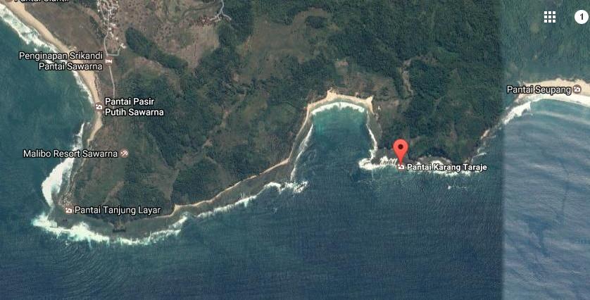 Destinasti Keindahan Wisata Pantai Karang Taraje Sawarna Lebak Demikianlah Sedikit
