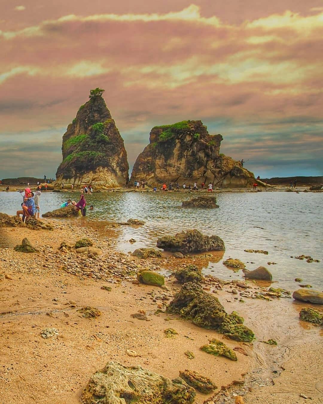 Images Tagged Kopacadventure Instagram Pantai Tanjung Layar Sawarna Icon Utama