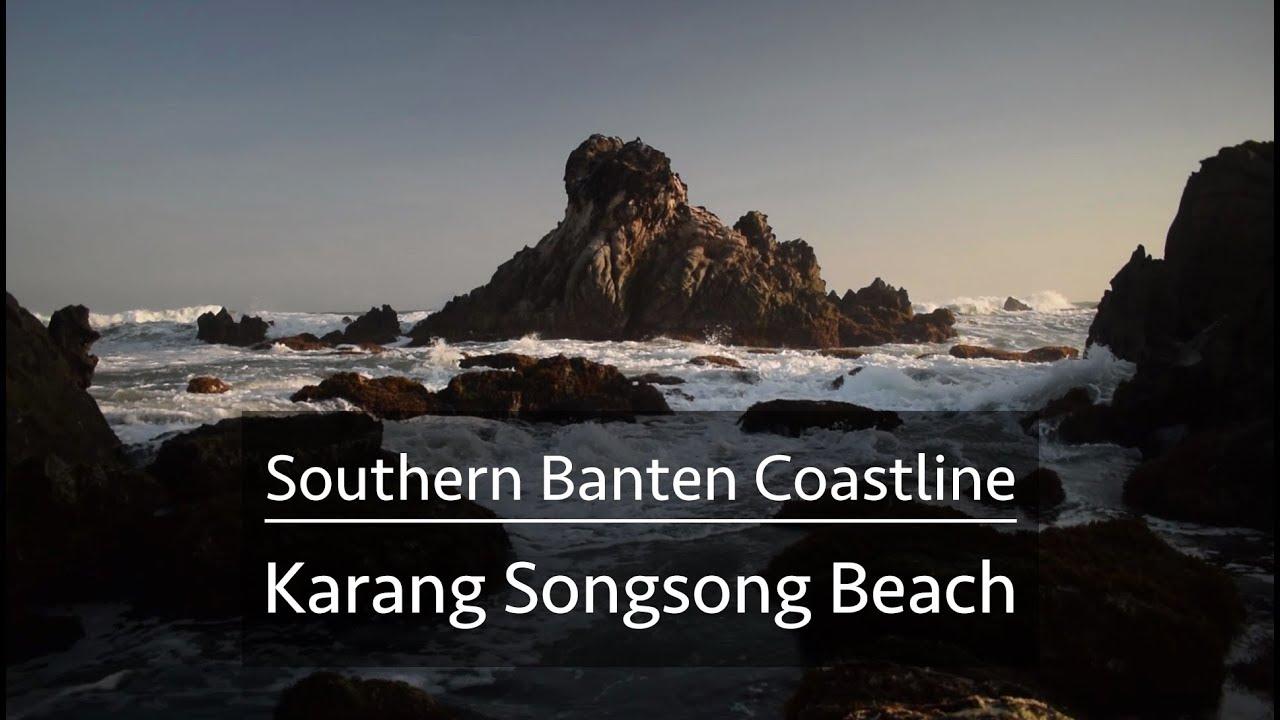 Karang Songsong Pantai Selatan Banten Indonesia Landscape Photography Karangsongsong Kab