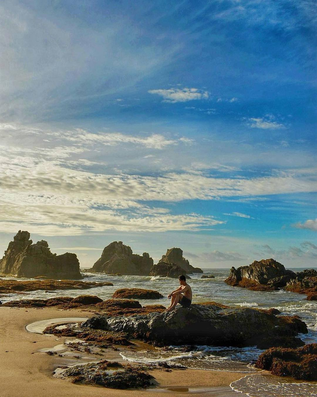 Kopacadventure Hash Tags Deskgram Repost Wowbanten Pantai Cibobos Terletak Desa