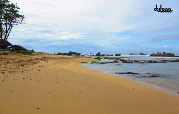 Pantai Cantik Banten Terjamah Cibobos Karang Songsong Karangsongsong Kab Lebak