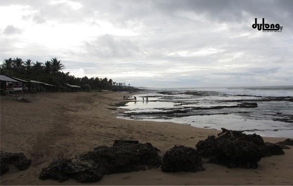 Pantai Cantik Banten Terjamah Pasput Karangsongsong Kab Lebak