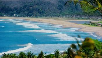 Pantai Cibobos Ciantir Karangsongsong Kab Lebak