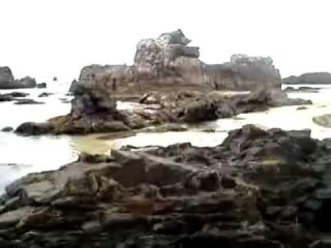 Pantai Karang Songsong Banten Youtube Karangsongsong Kab Lebak