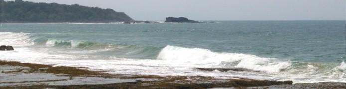 Pantai Karang Songsong Karangsongsong Kab Lebak