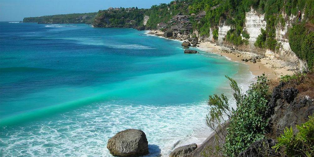 Pantai Sawarna Banten Indah Alami Karangsongsong Kab Lebak