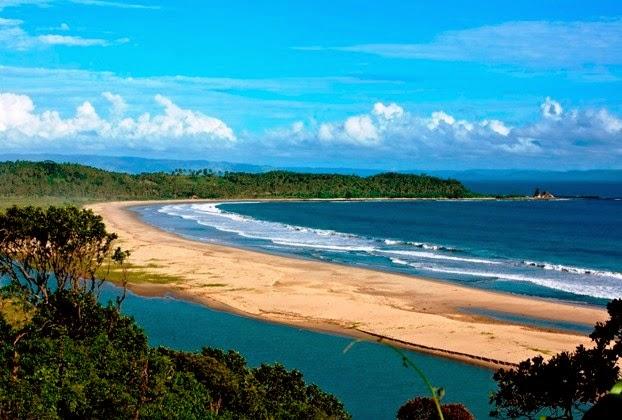 Sembilan Pulau Lebak Penghuni Pantai Karangsongsong Kab