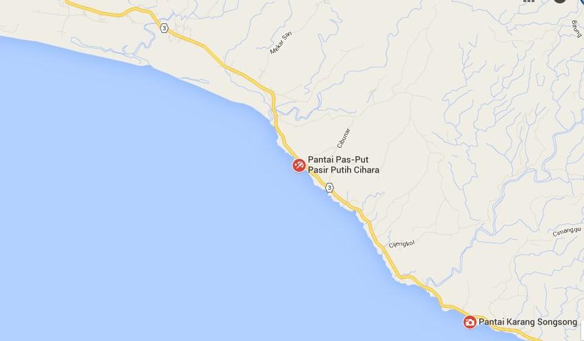 Wisata Pantai Cihara Lebak Banten Karangsongsong Kab