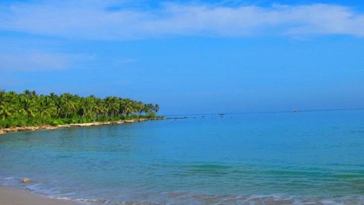 Wisata Pantai Ciputih Pandeglang Banten Kabupaten Lebak Karangsongsong Kab