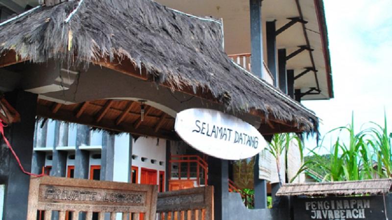 Wisata Pantai Karang Songsong Cibobos Banten Hotel Penginapan Murah Sawarna