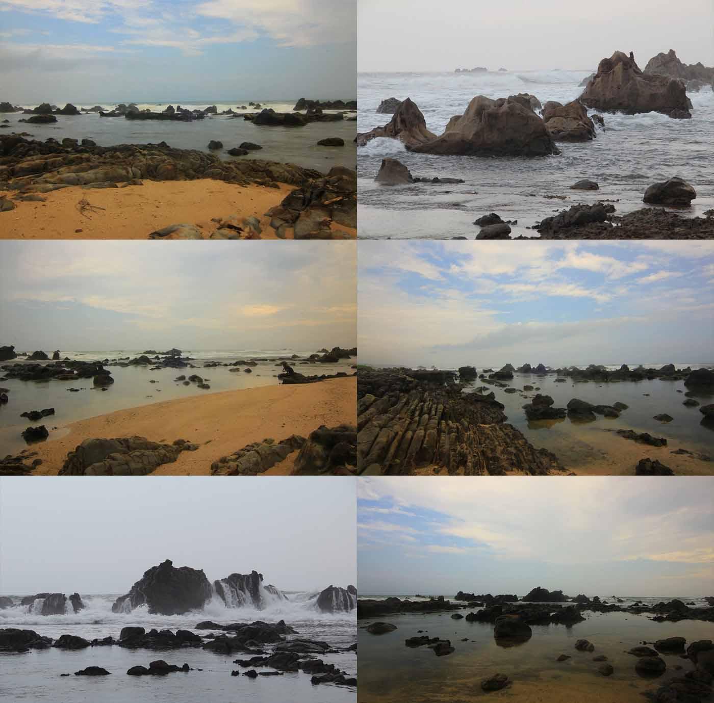 Wisata Pantai Karang Songsong Lebak Banten Kamera Budaya Suasana Karangsongsong