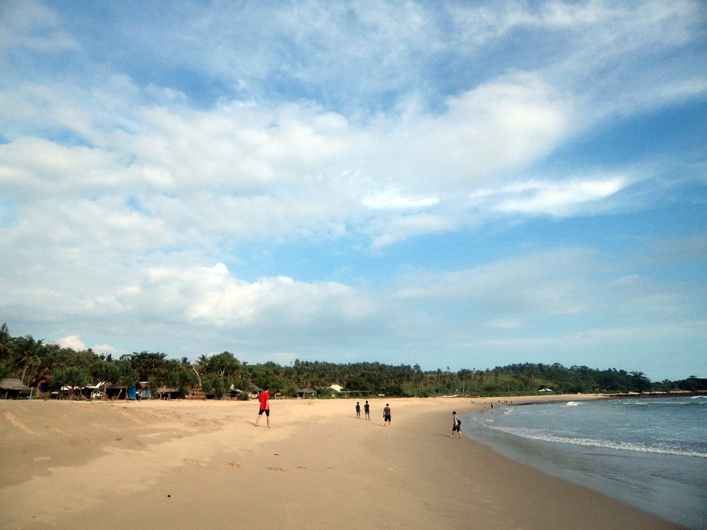 Desa Sawarna Travelz Mania Pantai Pasir Putih Ciantir Disebut Tersebut