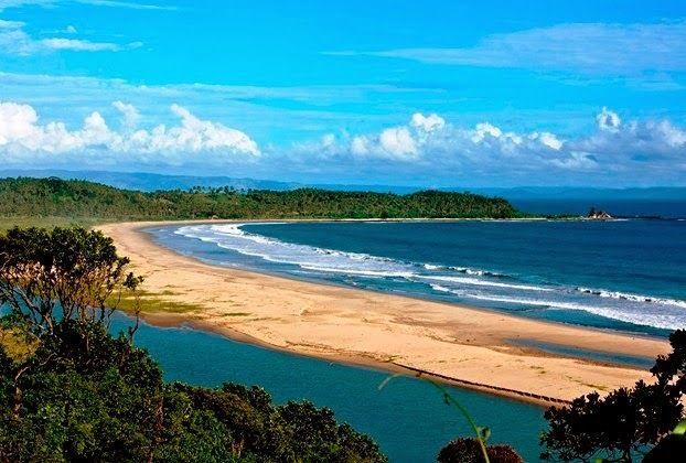 Destinasti Keindahan Wisata Pantai Ciantir Sawarna Lebak Banten Kab