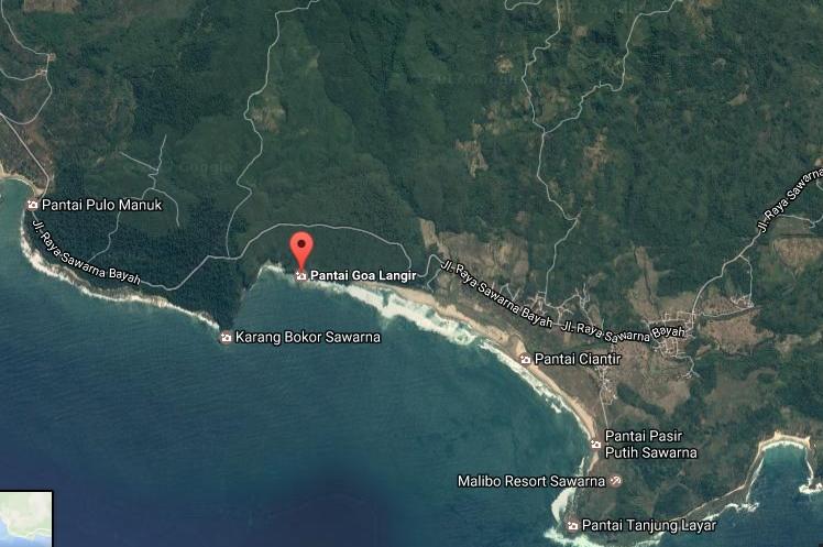 Destinasti Keindahan Wisata Pantai Goa Langir Sawarna Bayah Lebak Demikianlah