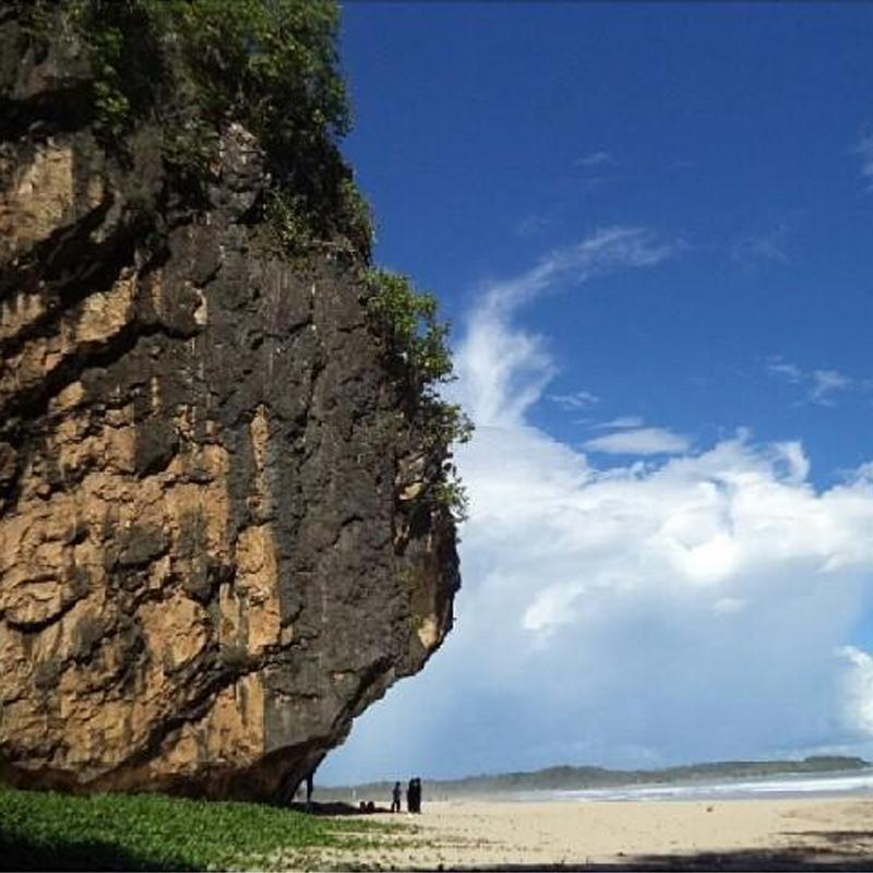 Goa Langir Sawarna Pantai Menakjubkan Kab Lebak