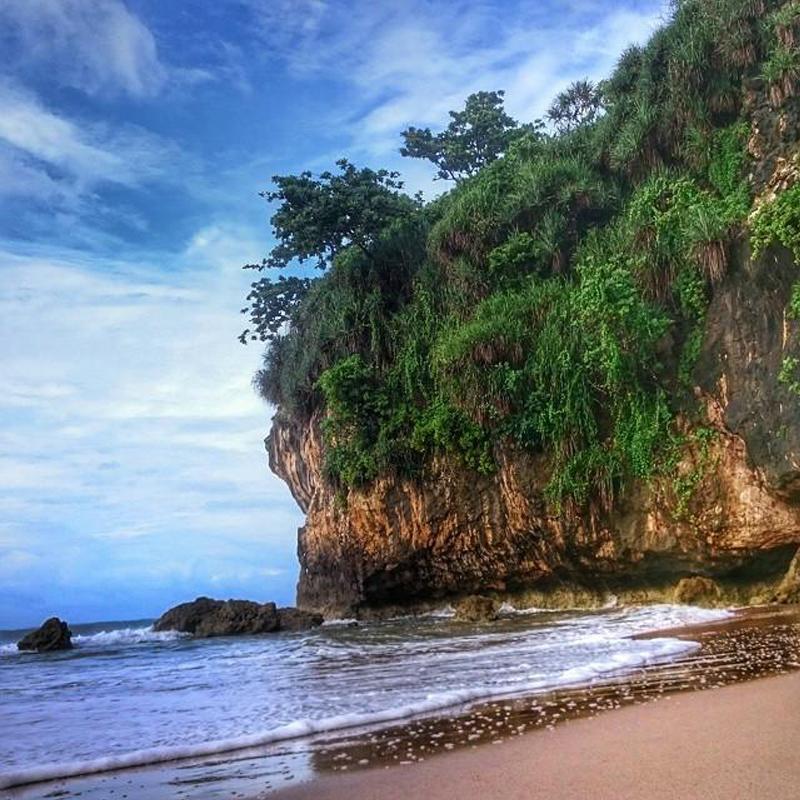 Goa Langir Sawarna Pantai Menakjubkan Keindahan Gua Kab Lebak