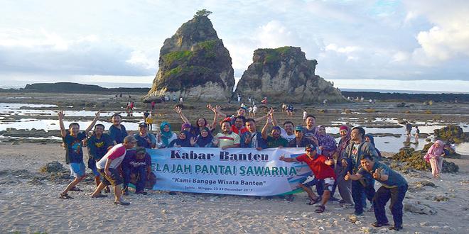 Kabar Banten Jelajah Pantai Sawarna Menikmati Surga Tak Tersembunyi Kab