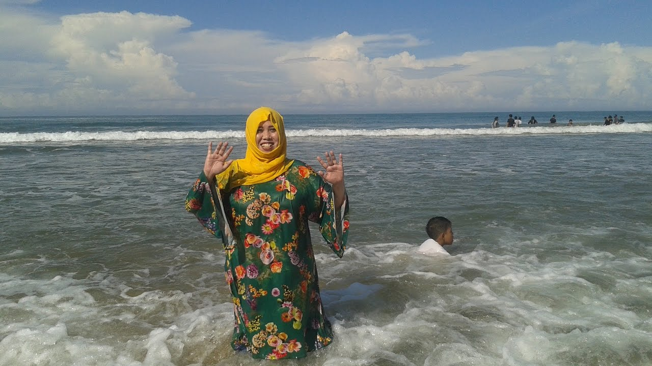 Keadaan Pantai Sawarna Kabupaten Lebak Kecamatan Bayah Desa Kab