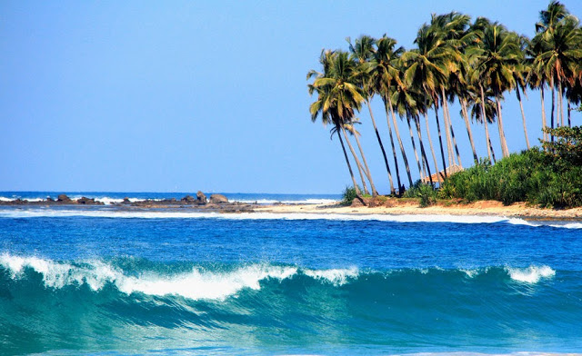 Keindahan Pantai Sawarna Banten Unforgetable Trip Terletak Desa Kecamatan Bayah