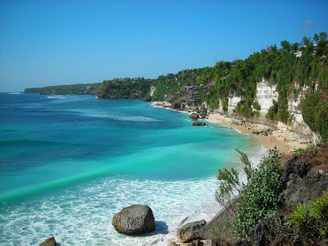 Keindahan Pantai Sawarna Membuat Kita Merasa Syurga Kab Lebak