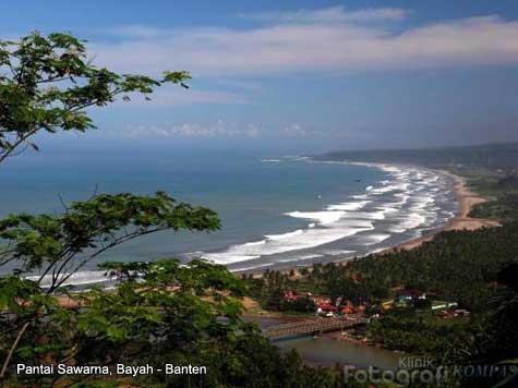 Pantai Sawarna Bayah Banten Yuk Keliling Indonesia Salah Satunya Masyhur