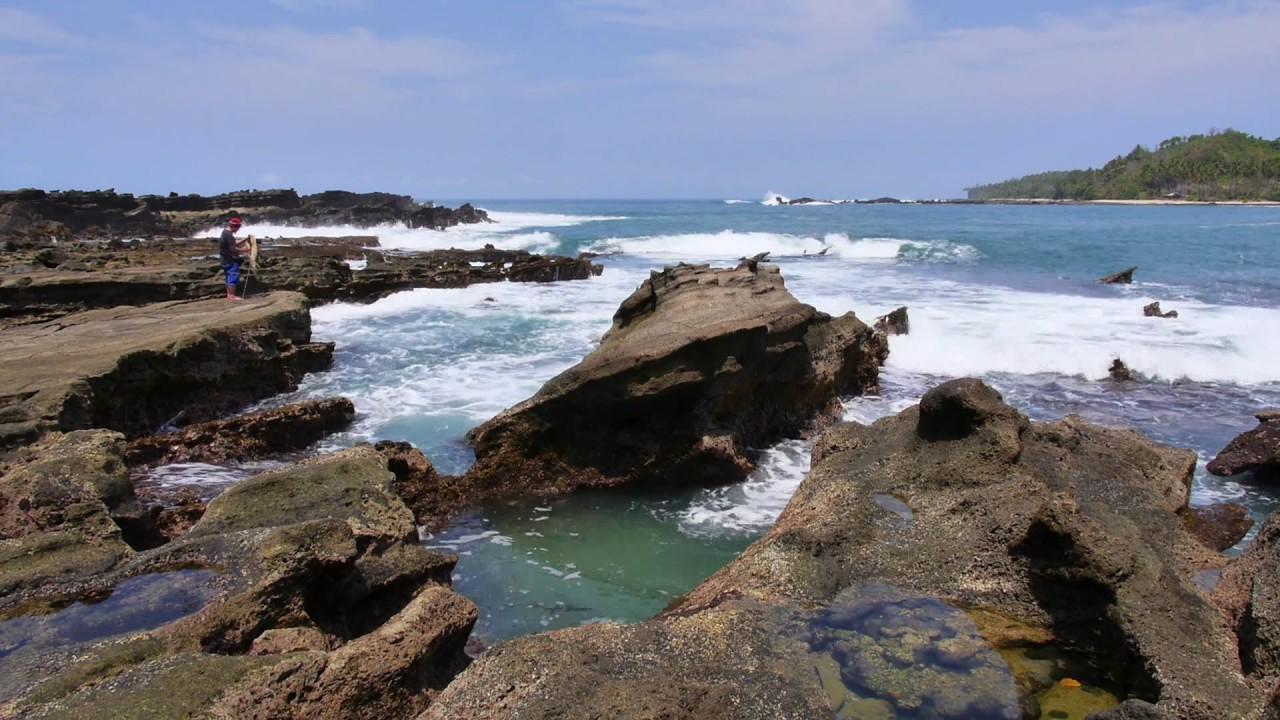 Pantai Sawarna Bayah Kab Lebak Youtube