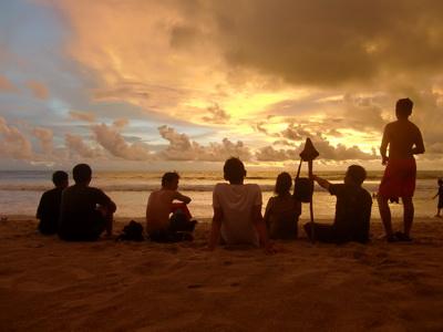 Pantai Sawarna Bayah Lebak Banten Harga Tiket Masuk Rute Peta