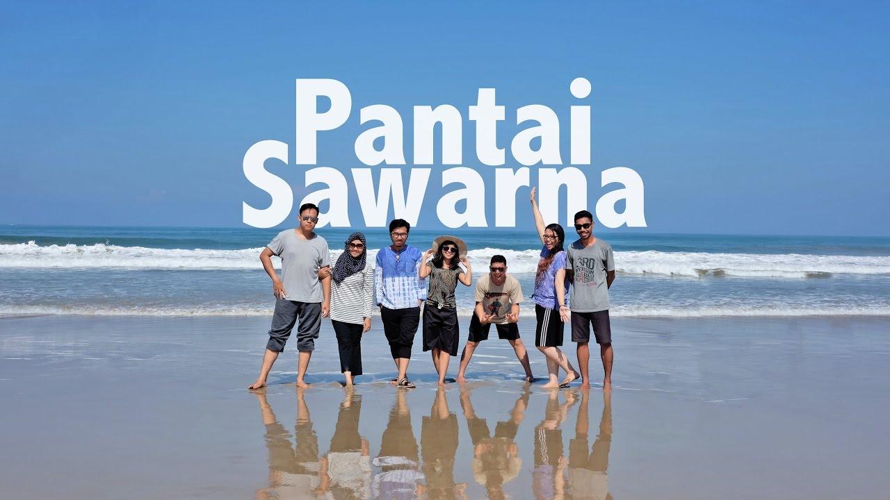 Pantai Sawarna Bayah Lebak Banten Youtube Kab