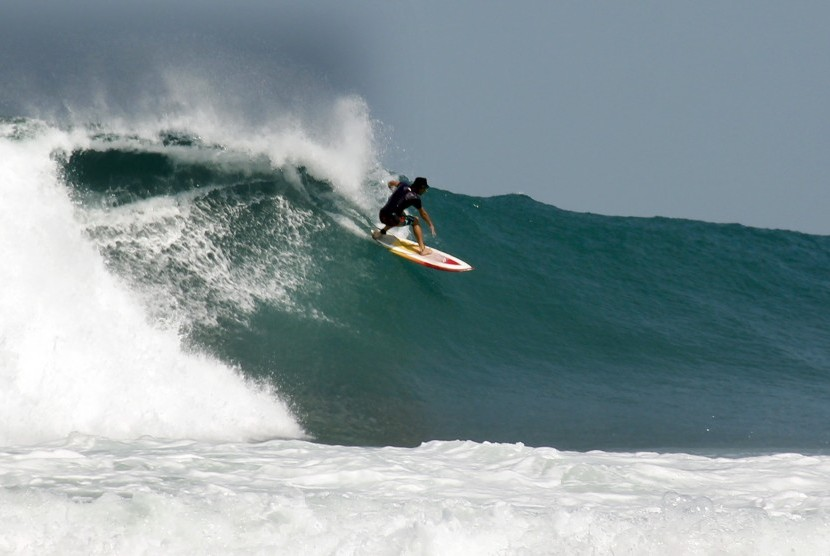 Pantai Sawarna Diserbu Wisatawan Warga Sewakan Homestay Republika Asal Australia