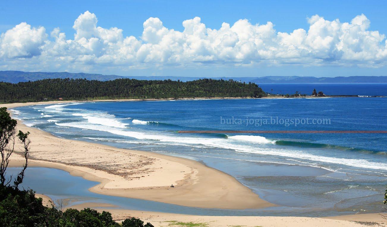 Pantai Sawarna Keindahan Alam Tersembunyi Pariwisata Indonesia Kab Lebak
