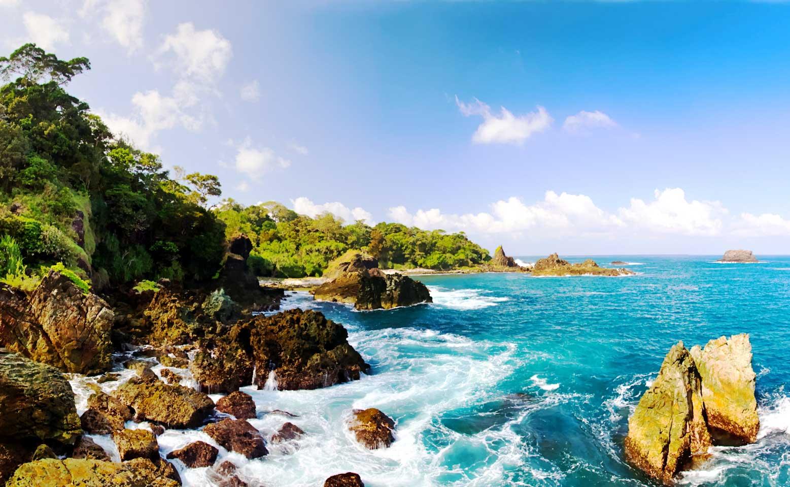 Pantai Sawarna Sewarna Keindahan Alami Travel Today Banten Lebih Indah