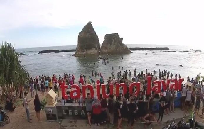Pantai Sawarna Tanjung Layar Memukau Lebak Banten Wahana 4 Kab